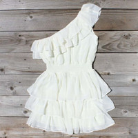 River's Mist Dress in White