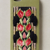 Embroidered Petals iPhone 5 Case