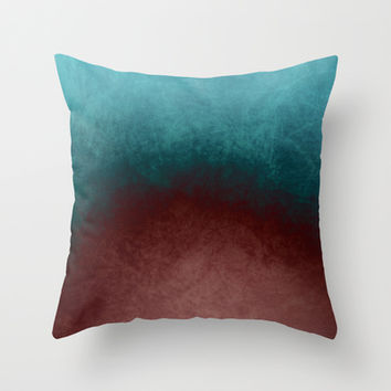 abstract texture Throw Pillow by VanessaGF
