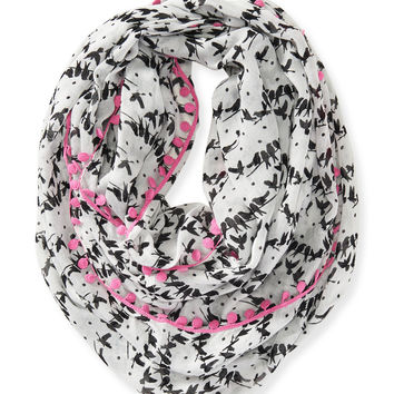Perched Birds Infinity Scarf