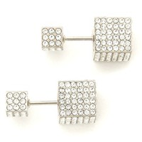 Double Cubo Earrings