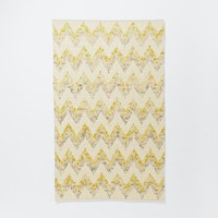 Watercolor Tide Wool Rug - Horizon