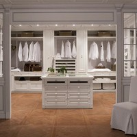VENETIAN STYLE SOLID WOOD WALK-IN WARDROBE PEGGY | CA' D'ORO BY GED ARREDAMENTI