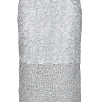 LIMITED EDITION SILVER CORNELLI PENCIL SKIRT