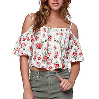 LA Hearts Hook N Eye Cold Shoulder Top at PacSun.com