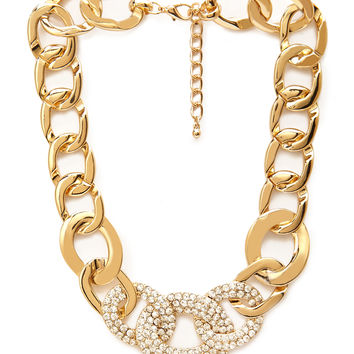 Casino Chic Chain Necklace