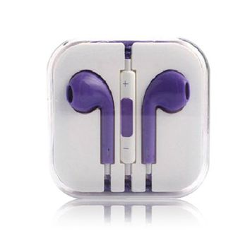Thinkcase 3.5mm Earphone Earbud Headphones With Remote & Mic For iPhone 4S 5 5C iPod others device 05#