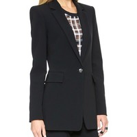 Crepe Suiting Jacket