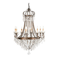 Monarchy Crystal Chandelier - Belle Escape
