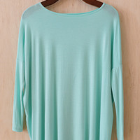 The Softest Tunic You'll Ever Meet, Mint