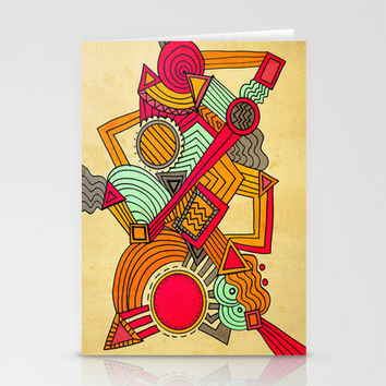 Semi Erratic Stationery Cards by DuckyB (Brandi)