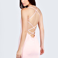 Tara Low Back Strappy Dress