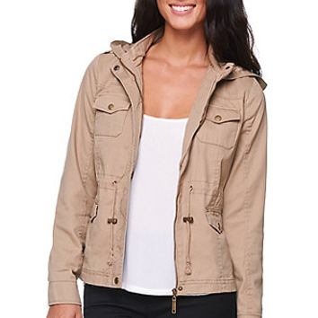 LA Hearts Shrunken Anorak Jacket  Womens Jacket -
