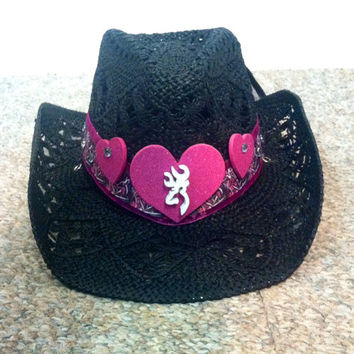 Browning Love Cowgirl Hat