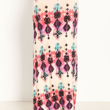 Tribal Print Maxi Skirt - LoveCulture