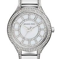 Michael Kors 'Kerry' Crystal Accent Bracelet Watch, 38mm