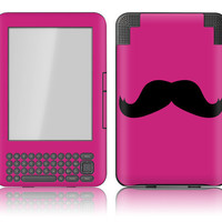 Amazon Kindle 3 / Keyboard Skin Cover Magenta by stickitskins
