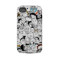 All The Rage Faces Meme iPhone 4 from Zazzle.com