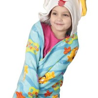 Nickelodeon Bubble Guppies Toddler Hooded Towel