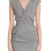 Boutique 1 - 2ND DAY - Grey 2Nd Adore Twist Dress | Boutique1.com