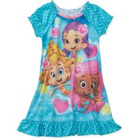 Nickelodeon Baby Girls' Bubble Guppies Nite Gown