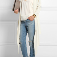 Banjo & Matilda | Jeronimo hooded silk and cashmere-blend cardigan | NET-A-PORTER.COM