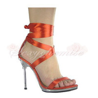 Charming Summer Sexy High Heels Sandals Red [TQL120323026] - £46.59 :