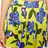 ASOS Lotus Floral Beach Skirt