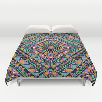 Triangle Takeover Duvet Cover by Aimee St Hill