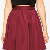 ASOS Skirt with Full Hem in Scuba