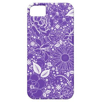 Botanical Beauties Purple, iPhone 5/5s Case