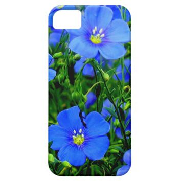 Dainty Blue Flax iPhone 5/5s Case