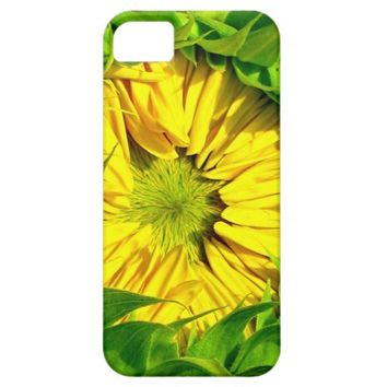 Sunflower Awakes iPhone 5s Case
