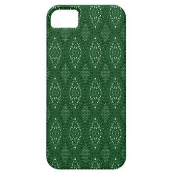 Pave Diamonds Emerald Green iPhone 5/5s Case