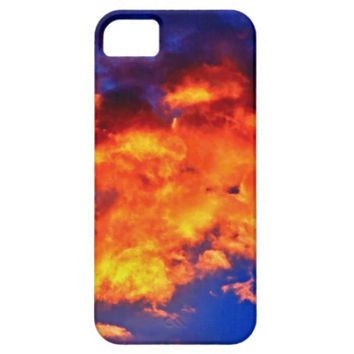 Fire in the Sky iPhone 5/5s Phone Case
