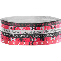 Under Armour Mini Headbands - Pink Ribbon