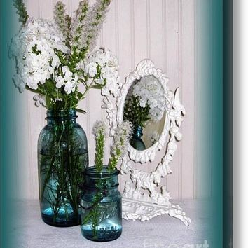 Mirrored Bouquet 2 Acrylic Print
