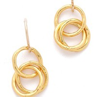 Infinity II Drop Earrings