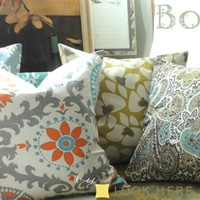 Pillow Covers-BOHO CHIC!