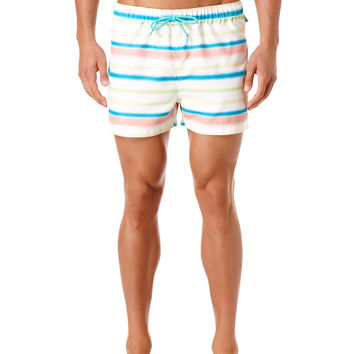 NEON WAVE BOX SWIM SHORT