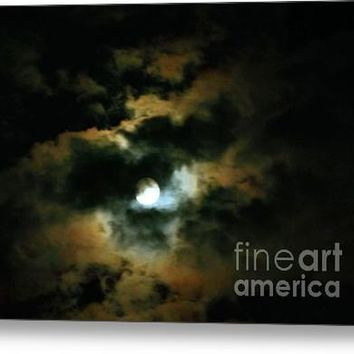 By The Light Of The Harvest Moon Acrylic Print