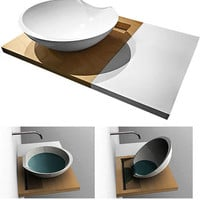 16 Sweet Modern Sink &amp; Wash Basin Designs | WebUrbanist