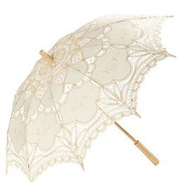 RawSpace :: Women&amp;#039;s Gifts :: Gifts :: A Parasol - cream crochet and lace