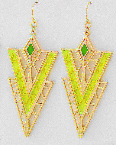 Limoncello Statement Earrings