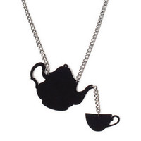 RawSpace :: Just Arrived! :: Necklace - Acrylic Teapot