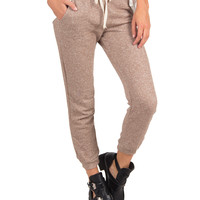 JOGGER SWEAT PANTS - MOCHA