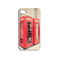 iPhone Case London Red Phonebox Red Phone by HConwayPhotography