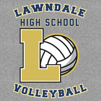 Lawndale HS Volleyball T-Shirts & Hoodies