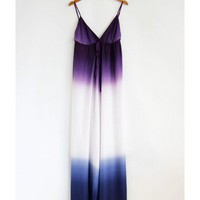 Ombre Maxi Dress