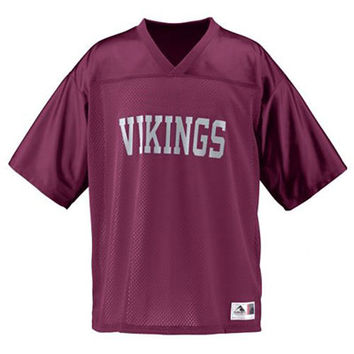 Adult Unisex Replica Mesh Jersey with Vinyl Team Name